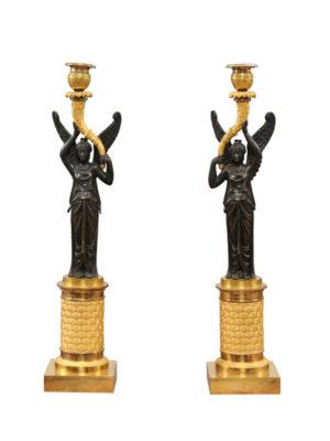 Pair Empire Candlesticks