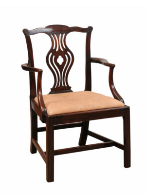 18th Century English Mahogany Armchair