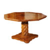 Italian Walnut Ocatgonal Center Table