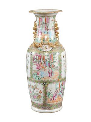 Rose Medallion Vase