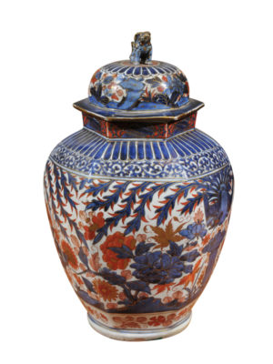 18th Century Imari Urn with Lid