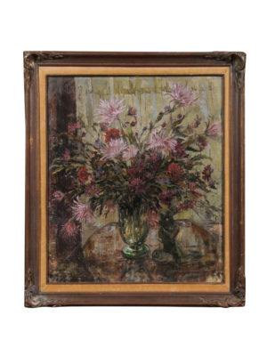 Post-Impressionist Floral Still Life Painting