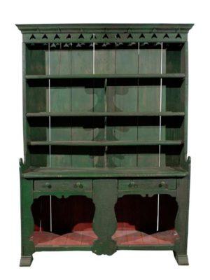 Green Painted Irish Dresser