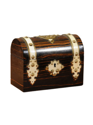 19th Century English Box with Dome Top