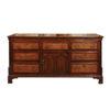 19th Century English Oak Dresser Base