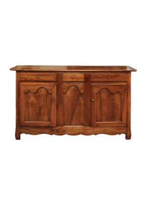 19th Century French Walnut Enfilade