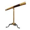 Brass Telescope on Stand