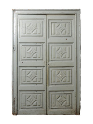 18th Century Painted Doors