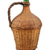 Raffia Wrapped Glass Bottle
