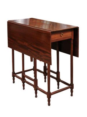 19th Century English Spider Leg Table