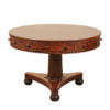 19th Century Regency Style Drum Table
