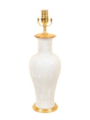 Chinese Crackleware Lamp