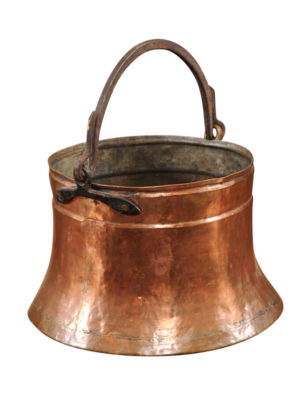 Copper Pot with Handle
