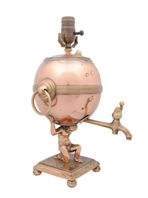 Copper Samovar Lamp