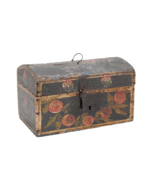 Floral Decorted French Painted Box