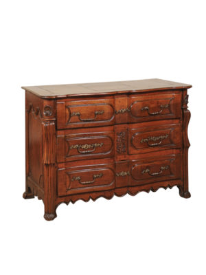 Louis XV Period Walnut Commode