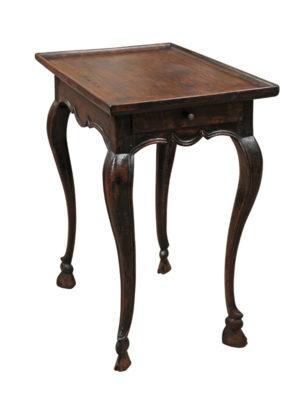 Louis XV Period Walnut Side Table