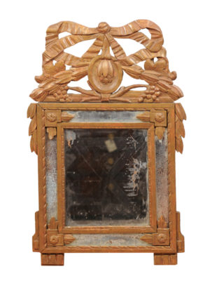 Louis XVI Mirror with Bow & Laurel Swags