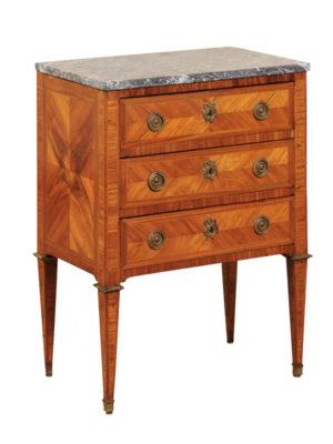 Louis XVI Style Tulipwood Side Table