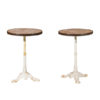 Pair French Bistro Tables