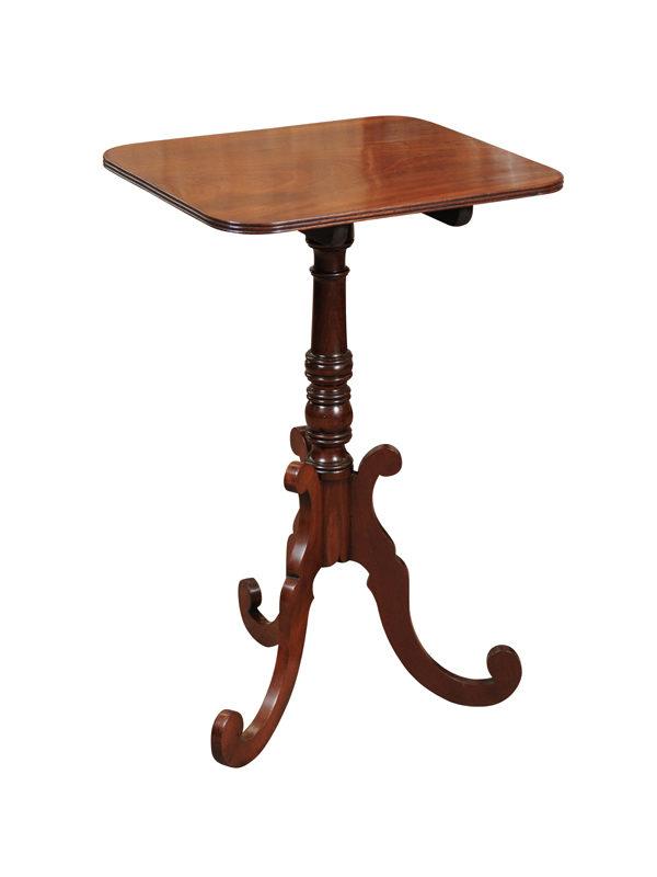 Regency Style Mahogany Candlestand