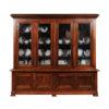 Louis Philippe Walnut Bookcase