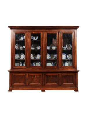 Louis Philippe Walnut Bookcase
