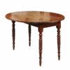 Oval Breakfast Table with Bobbin Turned Legs