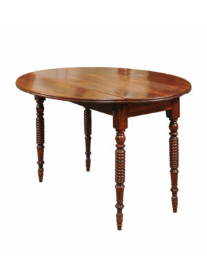 Oval Breakfast Table with Bobbin Turned Legs