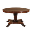 Rosewood Center Table with Paw Feet