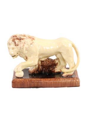 19th Century Staffordshire Lion