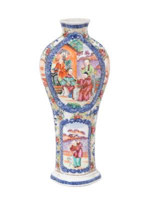 Chinese Export Mandarin Vase