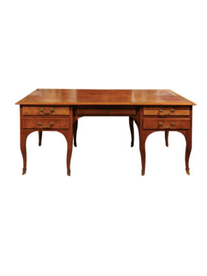 Louis XV Style Fruitwood Partner's Desk