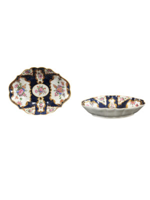 Pair 18th Century English Dr. Wall Serving Dishes