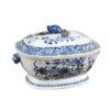 18th Century Blue & White Tureen