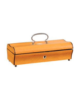 19th Century English Satinwood Box