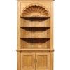 English Pine Open Shelf Bookcase