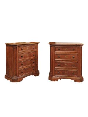 Pair Baroque Style Credenzas