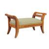19th Century Walnut Footstool