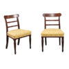 Pair Regency Mahogany Side Chairs