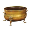 19th Century Brass Coal Hod