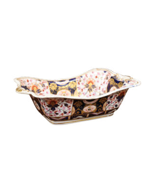 19th Century English Square Bowl