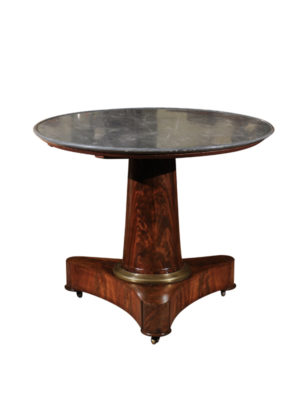 19th Century French Empire Center Table