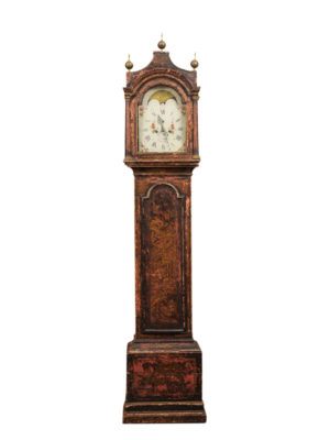 18th Century English Chinoiserie Clock