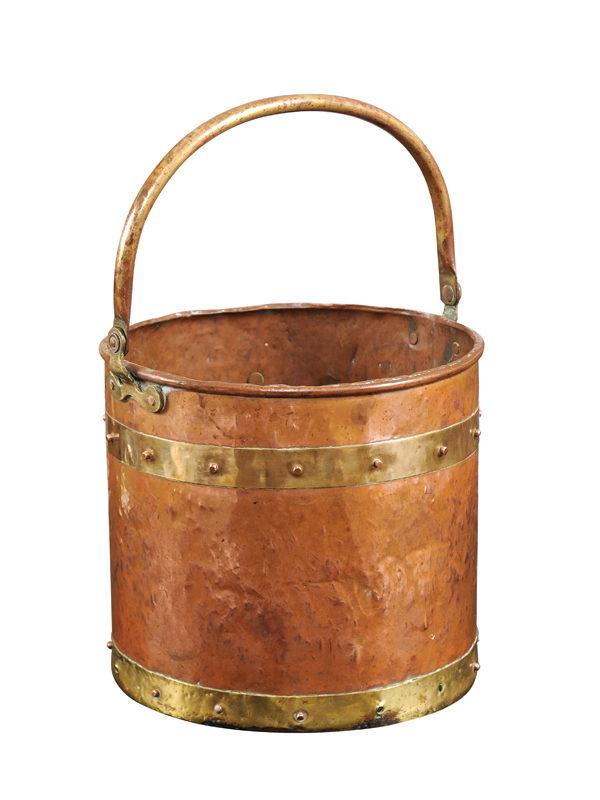 Copper & Brass Bucket