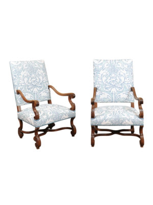Pair Louis XIV Style Armchairs