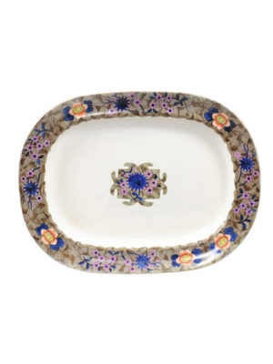 19th Century English Porcelain Platter