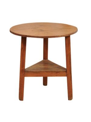 19th Century Pine Cricket Table