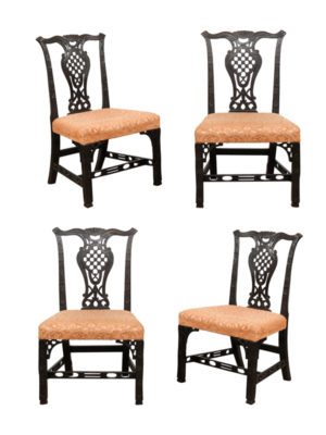 18th Century English Chippendale Side Chairs