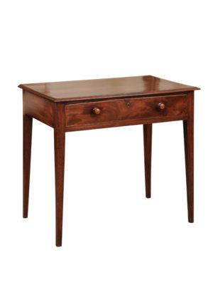 18th Century English Mahogany Side Table